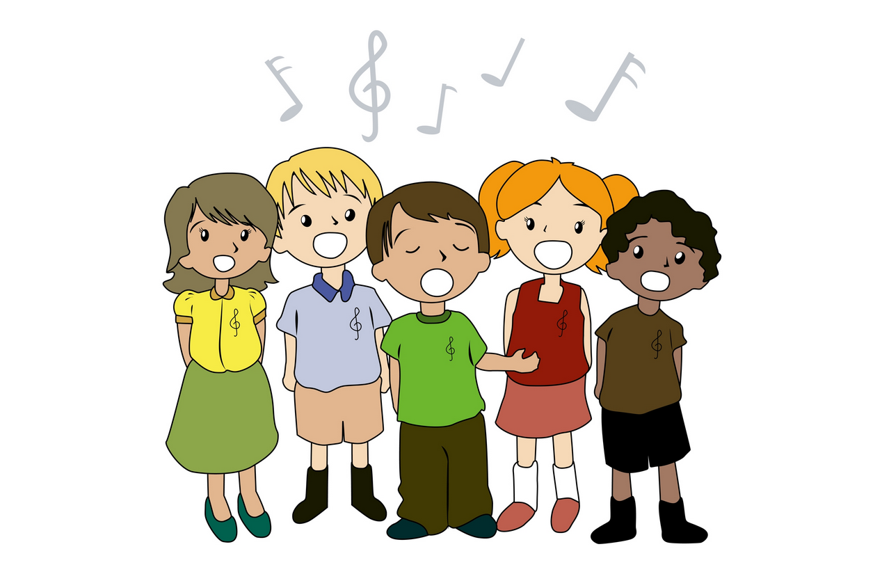 Pevske vaje za zaključni letnik – petje maturantske himne Gaudeamus