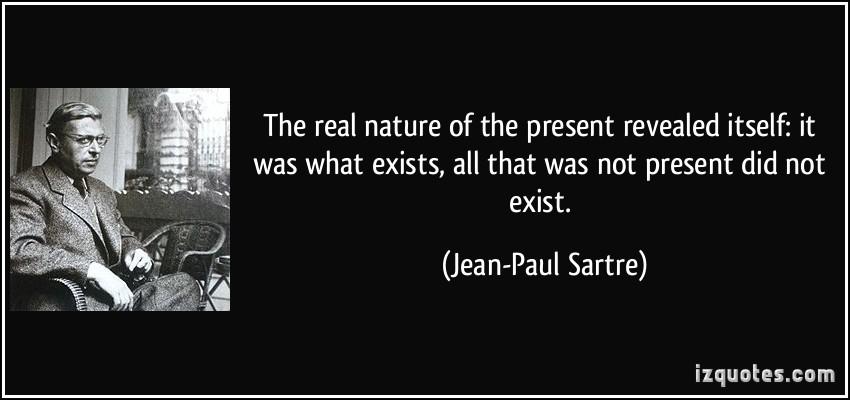 Sartre o pbstoju
