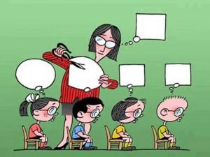 Učitelj oblikuje misli