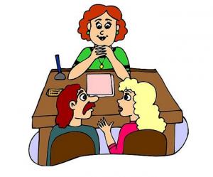 Obvestilo za starše – Popoldanska govorilna ura