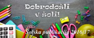 Šolska publikacija 2016/17