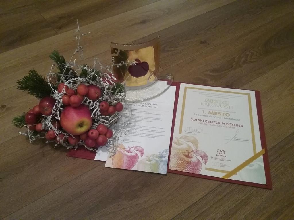Jabolko kakovosti 2016