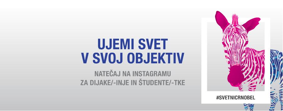 Fotonatečaj za dijake #svetnicrnobel