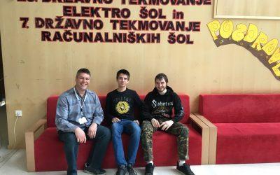 Uspešna udeležba na državnem tekmovanju računalniških šol Slovenije