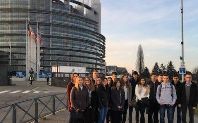 V Strasbourgu in na simulaciji Evropskega parlamenta