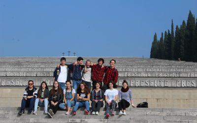 Strokovna ekskurzija dijakov 1. letnika gimnazije v zamejsko Italijo
