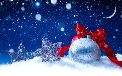 Vesel božič in srečno novo leto 2018