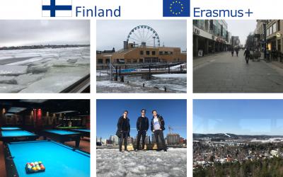 Naši dijaki na mednarodnih mobilnostih v okviru programa Erasmus+ 2018 in 2019
