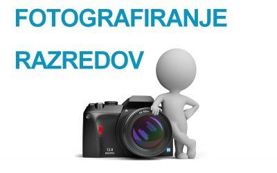 Fotografiranje oddelkov zaključnega letnika 2020/21