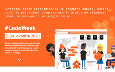 Evropski teden programiranja #CodeWeek